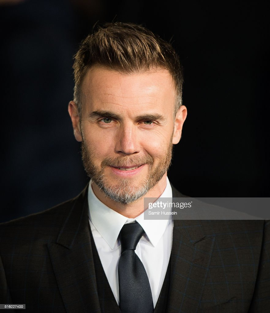 Gary Barlow arrives for the European premiere of 'Eddie The Eagle' at Odeon Leicester Square on March 17, 2016 in London, England.