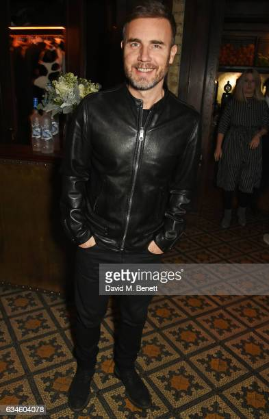 Gary Barlow attends a dinner cohosted by Harvey Weinstein Burberry Evgeny Lebedev ahead of the 2017 BAFTA film awards in partnership with Grey Goose...