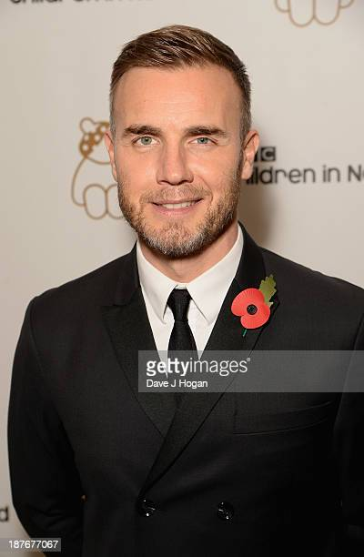 Gary Barlow attends Gary Barlow Hosts BBC Children In Need Gala at The Grosvenor House Hotel on November 11 2013 in London England