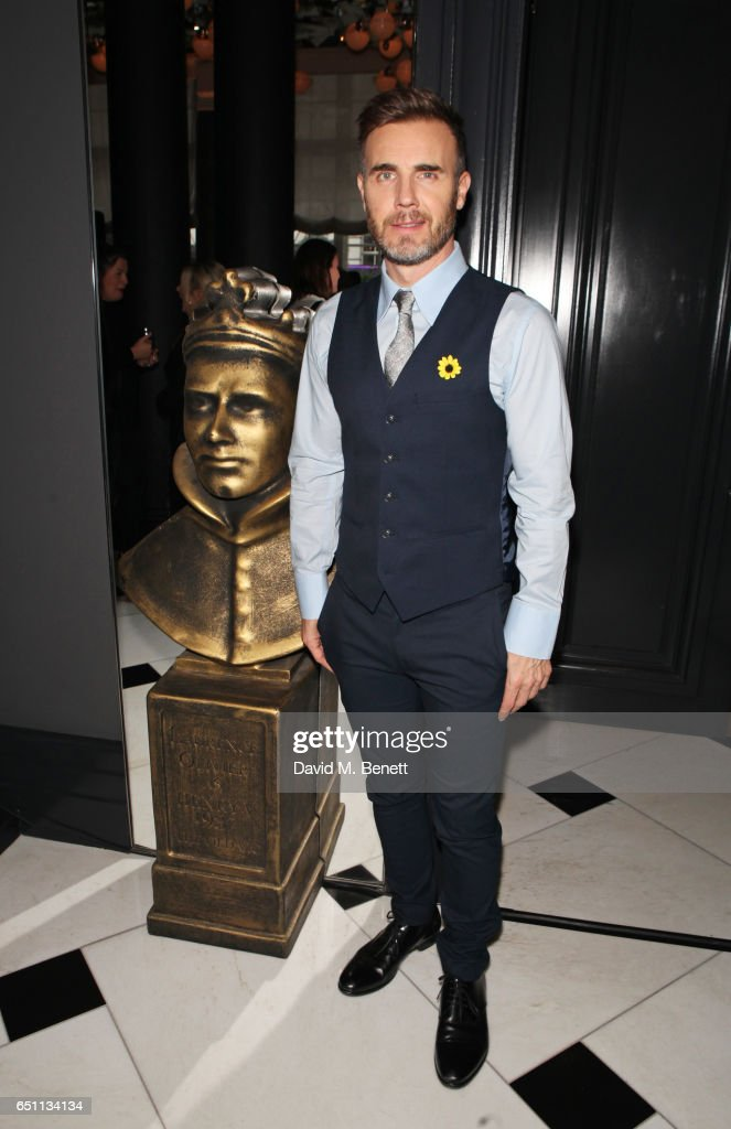 Gary Barlow attends the Olivier Awards 2017 nominees celebration at Rosewood London on March 10, 2017 in London, England.