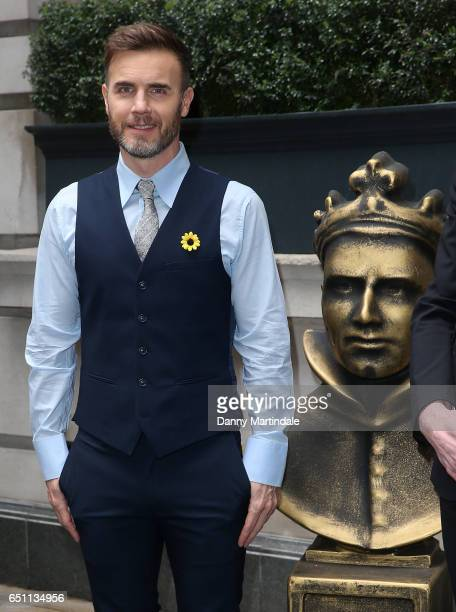 Gary Barlow attends the Olivier Awards nominations celebration on March 10 2017 in London United Kingdom