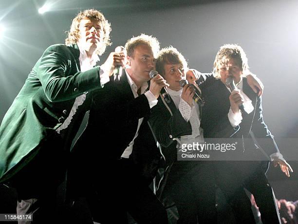 Gary Barlow Mark Owen Howard Donald and Jason Orange of Take That