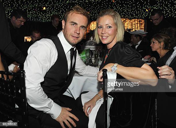 Gary Barlow of Take That and wife Dawn attend Ronan Keating's fourth annual Emeralds and Ivy Ball in aid of Cancer Research UK at Battersea Evolution...