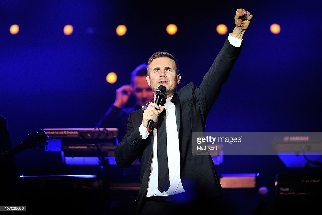 <a gi-track='captionPersonalityLinkClicked' href=/galleries/search?phrase=Gary+Barlow&family=editorial&specificpeople=616384 ng-click='$event.stopPropagation()'>Gary Barlow</a> performs at the Royal Albert Hall on November 27, 2012 in London, England.