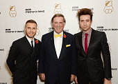 Gary Barlow Sir Terry Wogan and Nick Grimshaw attends Gary Barlow Hosts BBC Children In Need Gala at The Grosvenor House Hotel on November 11 2013 in...