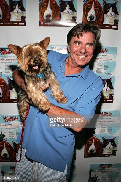 Gary Beach attends 'Broadway Barks 8' A Star Studded Dog and Cat AdoptaThon Hosted by Mary Tyler Moore and Bernadette Peters at Shubert Alley on July...