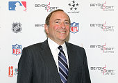 Gary Bettman Commissioner of the NHL attends the Beyond Sport United 2015 event on July 22 2015 in Newark City