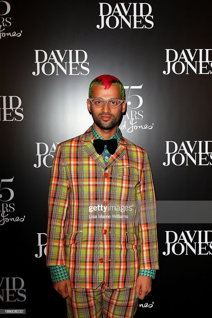 Gary Bigeni attends the David Jones 175 year celebration at David Jones on May 23, 2013 in Sydney, Australia.
