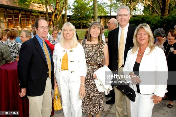 Gary Book Pat Schmidt Vivienne Dunne Jim Dunne and Deb Rensing attend Opening of A Moment in Time by Stewart F Lane at Performing Arts Center on June...