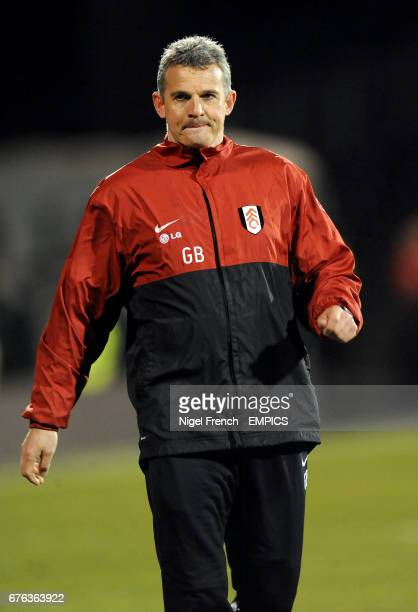 Gary Brazil Fulham Academy manager