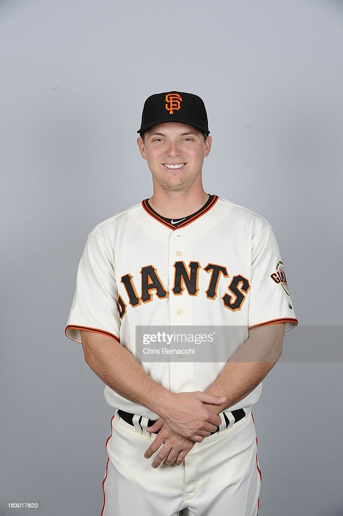 <a gi-track='captionPersonalityLinkClicked' href=/galleries/search?phrase=Gary+Brown&family=editorial&specificpeople=196518 ng-click='$event.stopPropagation()'>Gary Brown</a> #10 of the San Francisco Giants poses during Photo Day on February 20, 2013 at Scottsdale Stadium in Scottsdale, Arizona.
