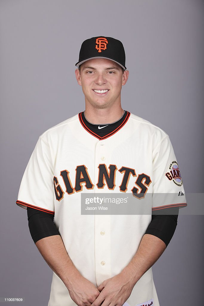 <a gi-track='captionPersonalityLinkClicked' href=/galleries/search?phrase=Gary+Brown&family=editorial&specificpeople=196518 ng-click='$event.stopPropagation()'>Gary Brown</a> #86 of the San Francisco Giants poses during Photo Day on Wednesday, February 23, 2011 at Scottsdale Stadium in Scottsdale, Arizona.