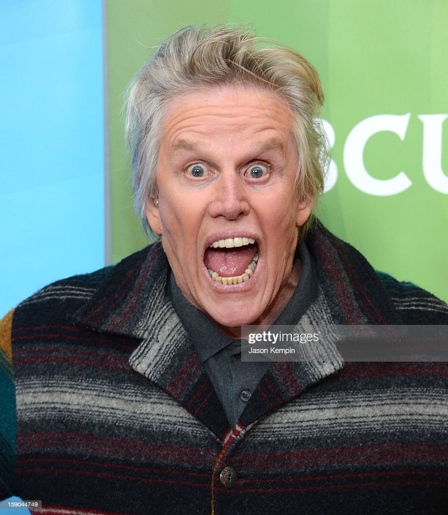 Gary Busey attends NBCUniversal's '2013 Winter TCA Tour' Day 1 at Langham Hotel on January 6, 2013 in Pasadena, California.