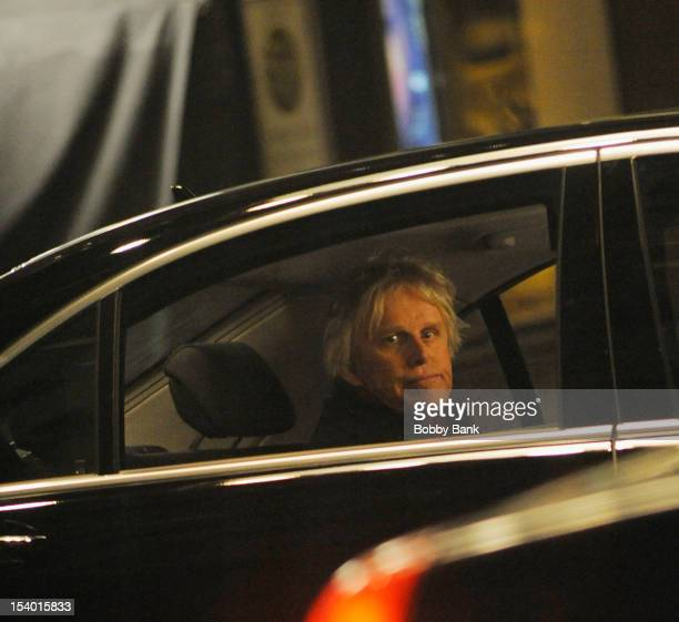 Gary Busey seen on location for 'The Celebrity Apprentice AllStar' on October 11 2012 in New York City