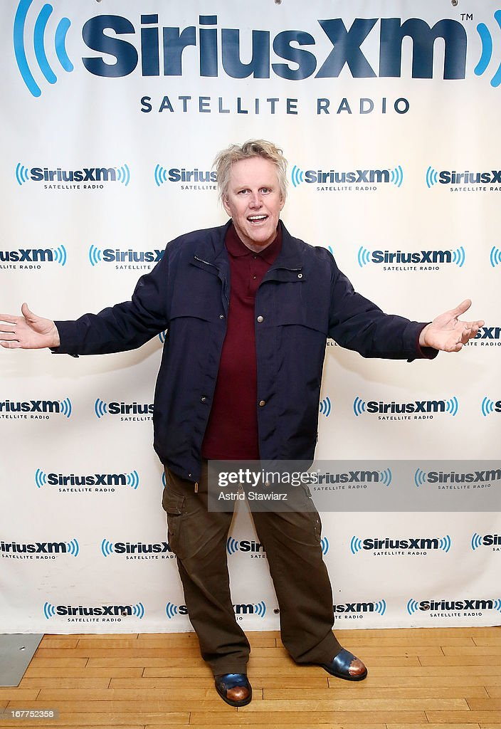 <a gi-track='captionPersonalityLinkClicked' href=/galleries/search?phrase=Gary+Busey&family=editorial&specificpeople=206115 ng-click='$event.stopPropagation()'>Gary Busey</a> visits the SiriusXM Studios on April 29, 2013 in New York City.