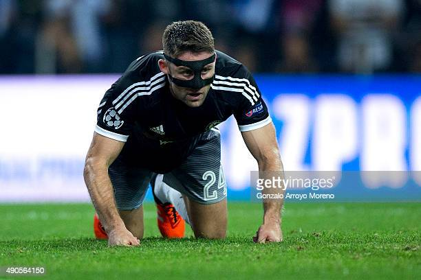 Gary Cahill of Chelsea FC reacts defeated after losing the UEFA Champions League Group G match between FC Porto and Chelsea FC at Estadio do Dragao...