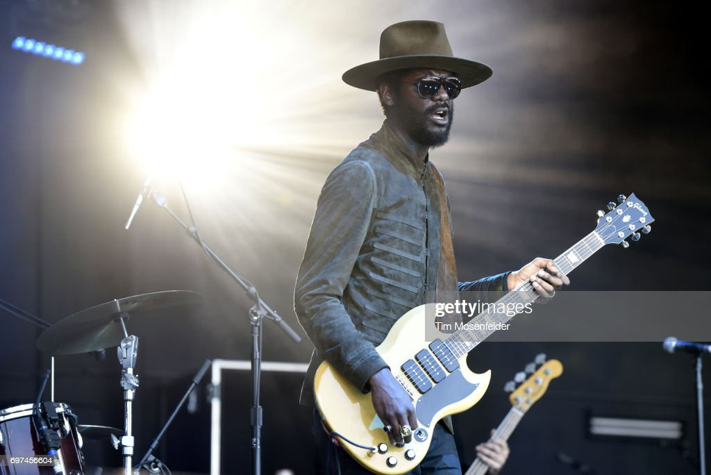 Gary Clark Jr. performs during the Monterey International Pop Festival 2017 at Monterey County Fairgrounds on June 18, 2017 in Monterey, California.