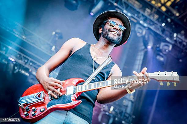 Gary Clark Jr performs on Day 3 of the Osheaga Music and Art Festival on August 2 2015 in Montreal Canada