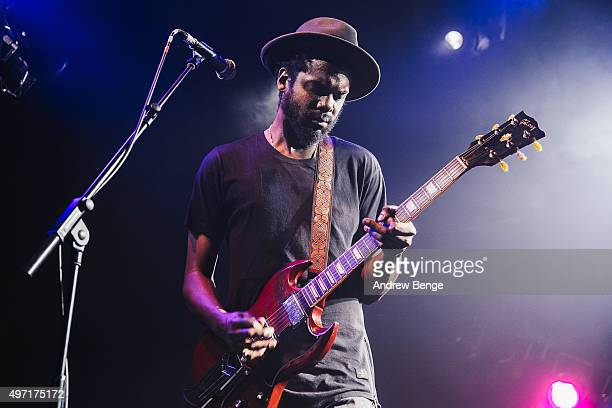 Gary Clark Jr performs on stage at Electric Ballroom on November 14 2015 in London England