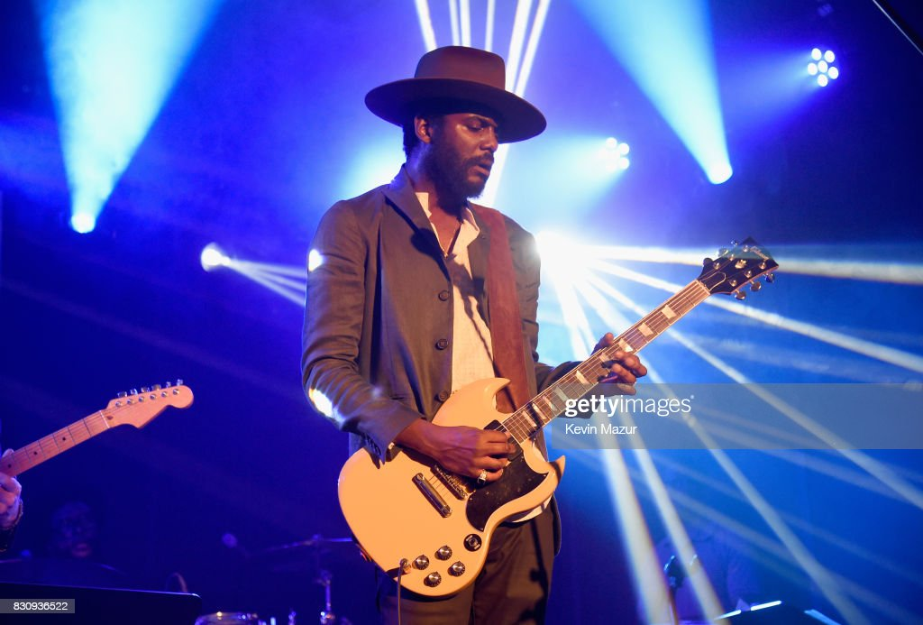 Gary Clark Jr. performs onstage at Apollo in the Hamptons 2017: hosted by Ronald O. Perelman at The Creeks on August 12, 2017 in East Hampton, New York.