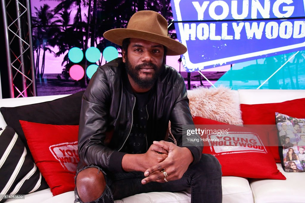 Gary Clark Jr. Visits Young Hollywood Studio
