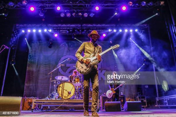 Gary Clarke Jr performs on Day 1 of the RBC Royal Bank Bluesfest on July 3 2014 in Ottawa Canada