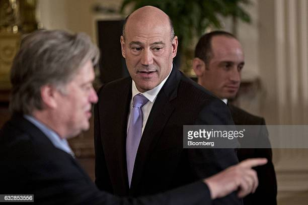 Gary Cohn director of the US National Economic Council arrives to attend a joint news conference between US President Donald Trump and Theresa May UK...