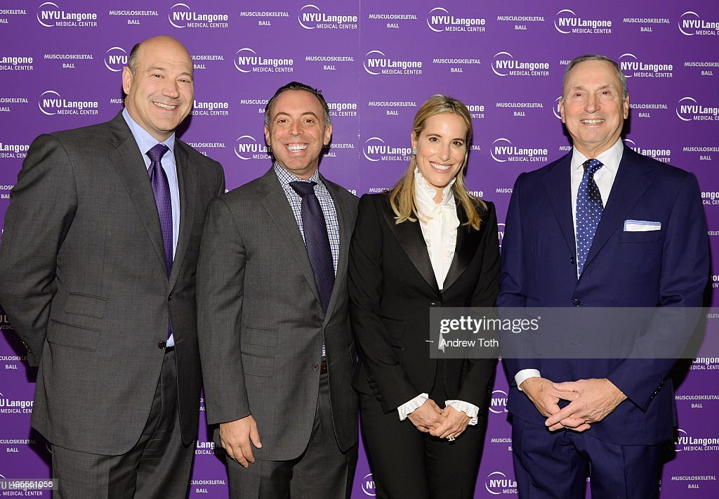 Gary Cohn, David J. Fiszel, Sarah Fiszel and Robert Grossman attend NYU Langone Musculoskeletal Ball 2015 on November 3, 2015 in New York City.