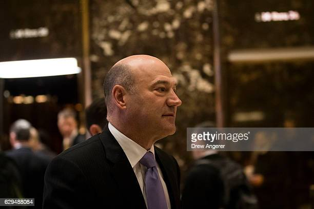 Gary Cohn president of Goldman Sachs and Presidentelect Donald Trump's choice for Director of National Economic Council walks through the lobby at...