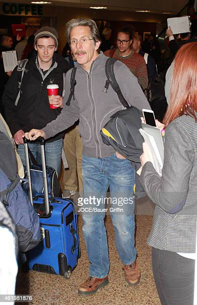 Gary Cole is seen at Salt Lake City Airport on January 22 2015 in Park City Utah