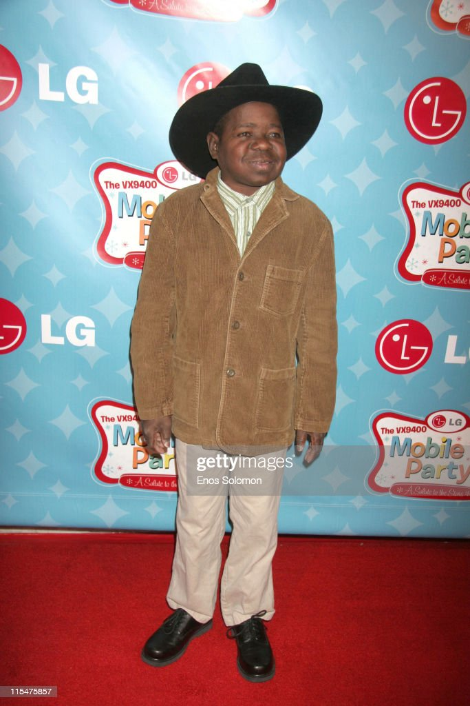 Gary Coleman during LG Mobile TV Party at Stage 14 - Paramount Studios in Hollywood, CA, United States.