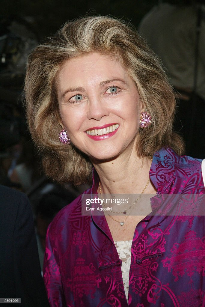 Gary Cooper's daughter Maria Cooper arrives at the 60th Anniversary of 'Casablanca' gala tribute screening and DVD release event at Alice Tully Hall, Lincoln Center, August 11, 2003 in New York City.
