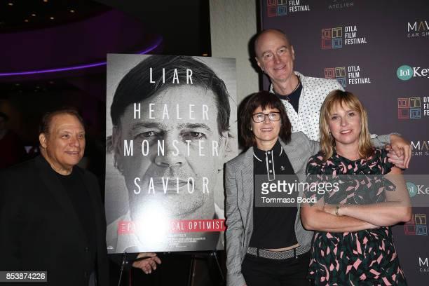 Gary Coppola Andrea Maxwell Craig Richey and Miranda Bailey attend the DTLA Film Festival Premiere Of 'The Pathological Optimist' at Regal 14 at LA...