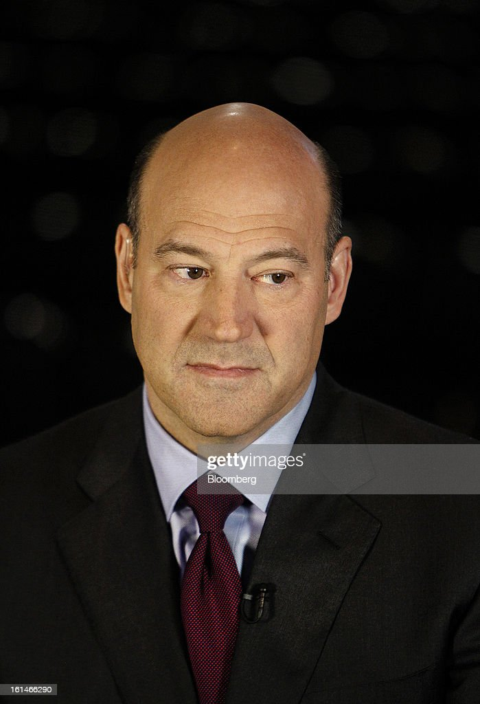 Gary D. Cohn, president and chief operating officer of Goldman Sachs Group Inc., pauses during a Bloomberg Television interview in Warrensville Heights, Ohio, U.S., on Monday, Feb. 11, 2013. Cohn said that interest rates at or near record lows will eventually rise and he's concerned some investors don't understand that bonds will lose value. Photographer: David Maxwell/Bloomberg via Getty Images