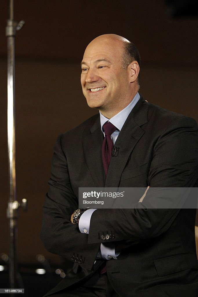 Gary D. Cohn, president and chief operating officer of Goldman Sachs Group Inc., smiles during a Bloomberg Television interview in Warrensville Heights, Ohio, U.S., on Monday, February 11, 2013. Photographer: David Maxwell/Bloomberg via Getty Images