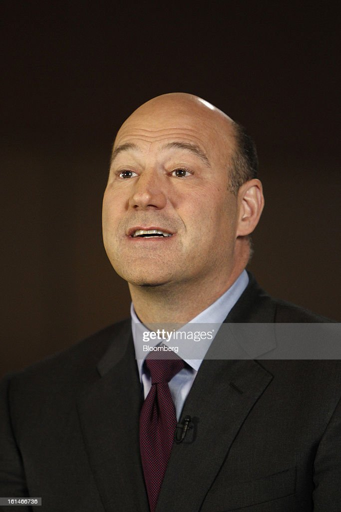 Gary D. Cohn, president and chief operating officer of Goldman Sachs Group Inc., speaks during a Bloomberg Television interview in Warrensville Heights, Ohio, U.S., on Monday, February 11, 2013. Photographer: David Maxwell/Bloomberg via Getty Images