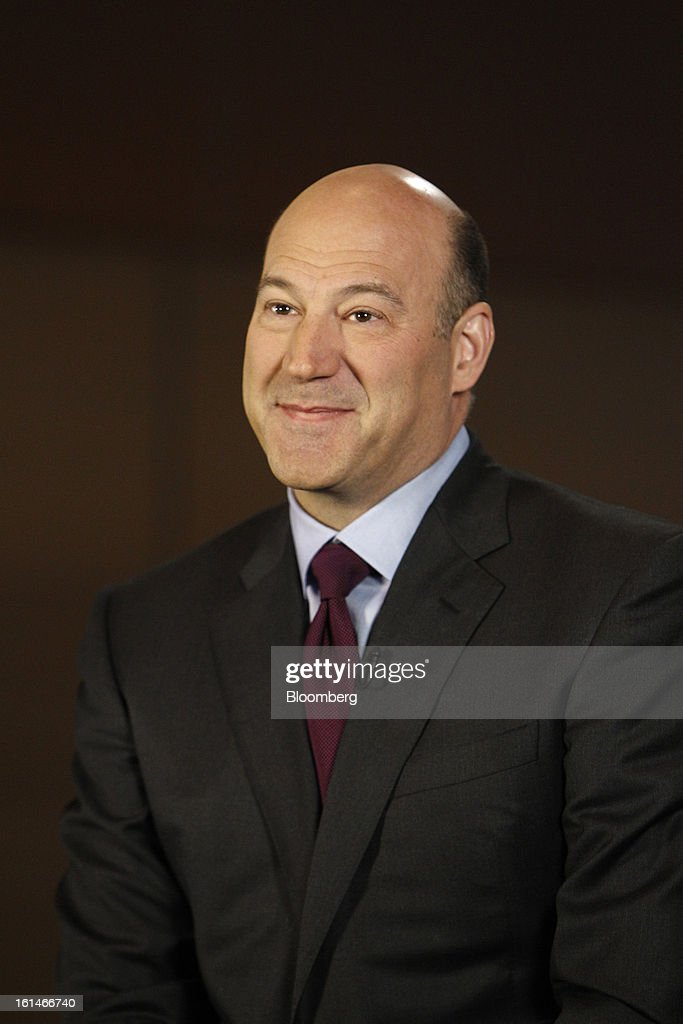 Gary D. Cohn, president and chief operating officer of Goldman Sachs Group Inc., pauses during a Bloomberg Television interview in Warrensville Heights, Ohio, U.S., on Monday, February 11, 2013. Photographer: David Maxwell/Bloomberg via Getty Images