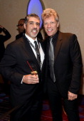 Gary Dell'Abate and Jon Bon Jovi attend Songwriters Hall of Fame 45th Annual Induction And Awards at Marriott Marquis Theater on June 12 2014 in New...