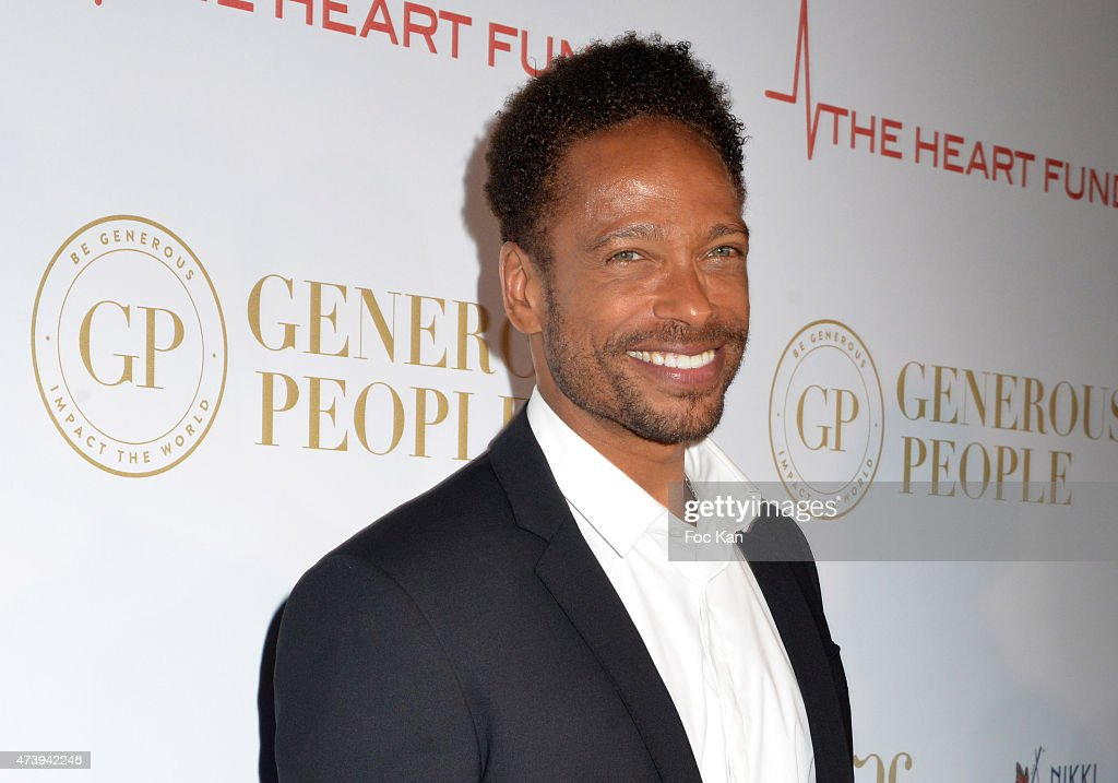 Gary Dourdan attends The Heart Fund - The 68th Annual Cannes Film Festival at Carlton Hotel on May 18, 2015 in Cannes, France.