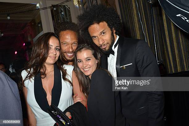 Gary Dourdan Yassine Azzouz and guests attend the Heartfund Dinner The 67th Annual Cannes Film Festival at the Carlton on May 21 2014 in Cannes France