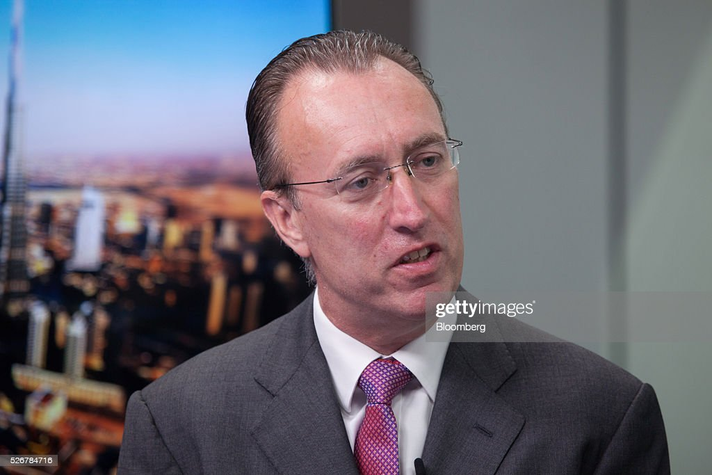 Gary Dugan, chief investment officer, wealth management at Emirates NBD Pjsc, speaks during a Bloomberg Television interview in Dubai, United Arab Emirates, on Sunday, May 1, 2016. Saudi Arabias Tadawul All Share Index could add 15%, but the princes words need to be put into action, Dugan says. Photographer: Razan Alzayani/Bloomberg via Getty Images