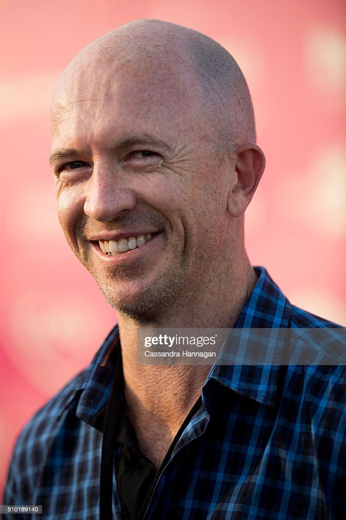 Gary Eck arrives at Tropfest at Centennial Park on February 14, 2016 in Sydney, Australia.