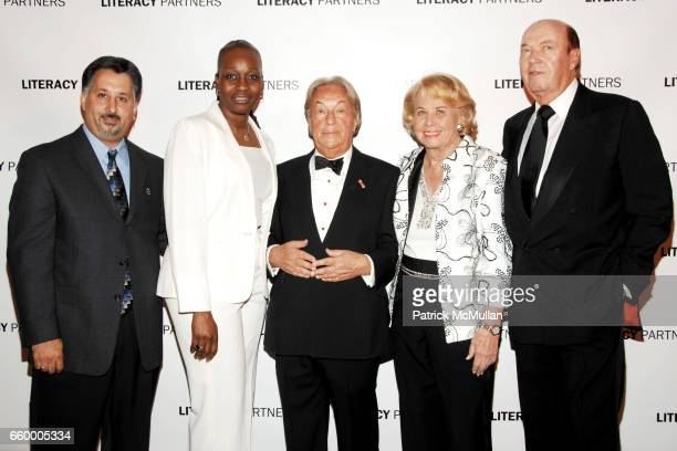 Gary Figarowa Emma Davis Arnold Scaasi Liz Smith and Parker Ladd attend LITERACY PARTNERS 25th Anniversary 'A Gala Evening of Readings' Honoring...