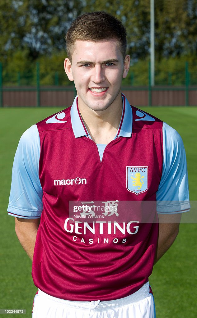 Gary Gardner of Aston Villa poses during the club's 2012/13 photo call at the club's training ground at Bodymoor Heath on September 18, 2012 in Birmingham, England.
