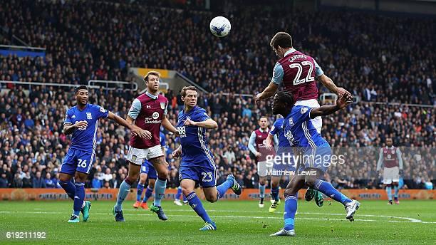 Gary Gardner of Aston Villa scores Aston Villa goal during the Sky Bet Championship match between Birmingham City and Aston Villa at St Andrews on...