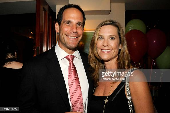 Gary Giglio and Tanya Giglio attend 'PARTY FAVORS' by Nicole Sexton Book Release Party at Michael's on July 29 2008 in New York City