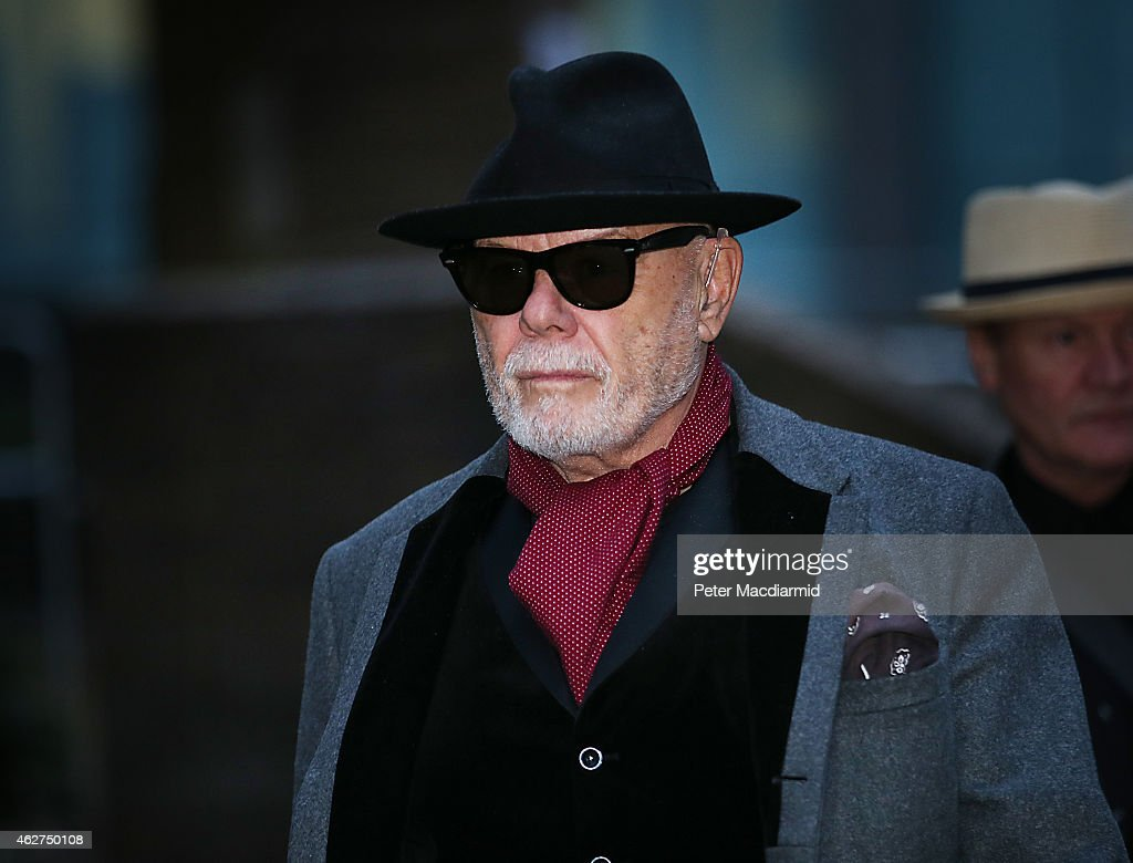 Gary Glitter, real name Paul Gadd, leaves Southwark Crown Court after the jury retired to consider their verdict on February 4, 2015 in London, England. The former glam rock star faces 10 charges relating to alleged sexual crimes from the 1970s and early 1980s.