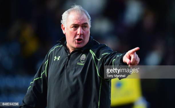 Gary Gold Worcester Warriors Director of Rugby during the Aviva Premiership match between Worcester Warriors and Bristol Rugby at Sixways Stadium on...