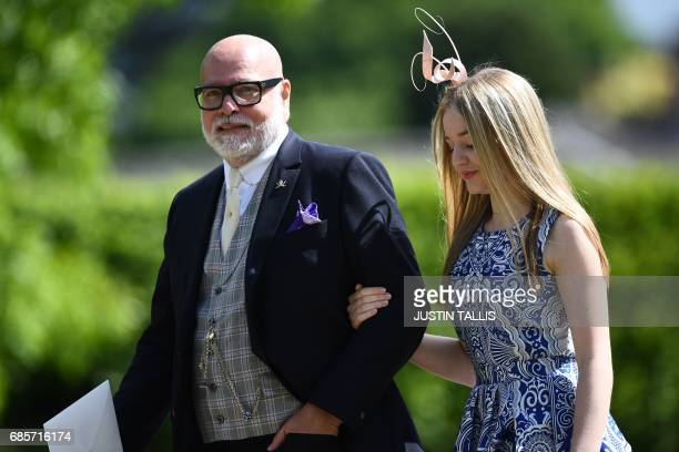 Gary Goldsmith uncle of the bride attends the wedding of Pippa Middleton and James Matthews at St Mark's Church in Englefield west of London on May...