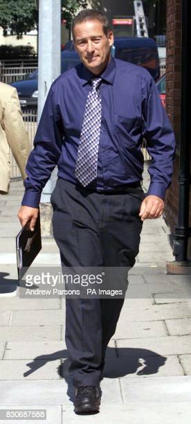 Gary Grainge outside Colchester County Court The seafront trader who sold ice creams from his deckchair hire business appeared in court in breach of...